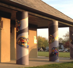 Allmendinger Park Neighborhood Mural & Mosaic Project