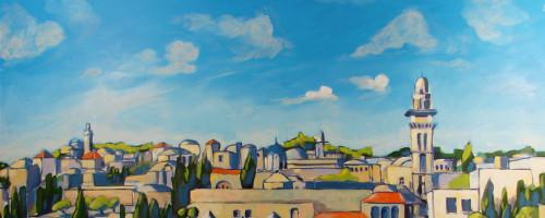Jerusalem Garden Mural