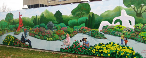 Oakwood Annapolis Hospital Mural