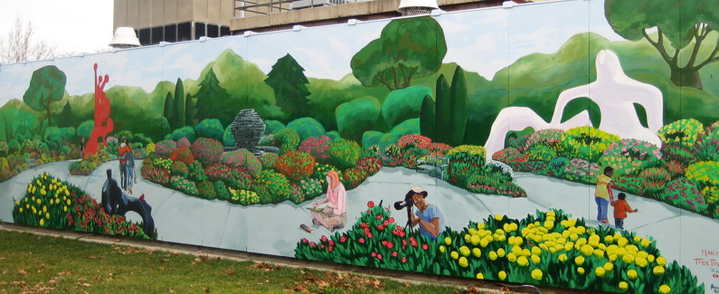 Oakwood Annapolis Hospital Mural, Wayne, Michigan