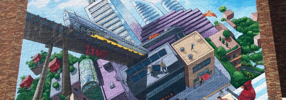 McKinley Mural, 2015 - Main Street, Ann Arbor, MI