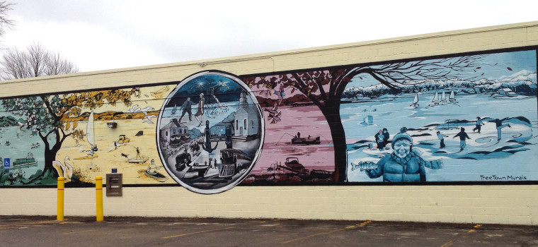 Whitmore Lake Public Mural