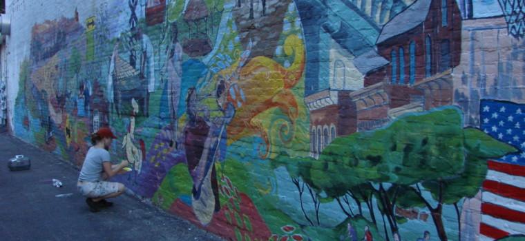 Manchester, MI Mural