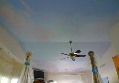 Sunrise Ceiling Mural