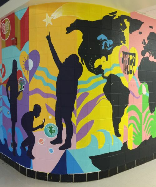 Sesla Scarlet Middle School Mural Project